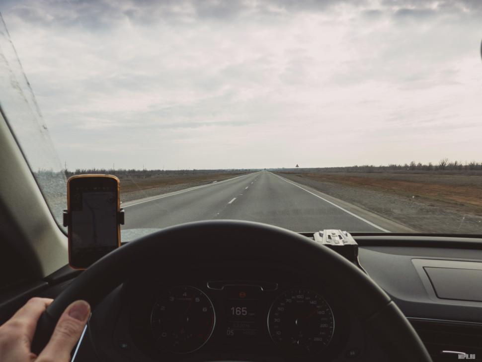 Дорога Волгоград - Элиста