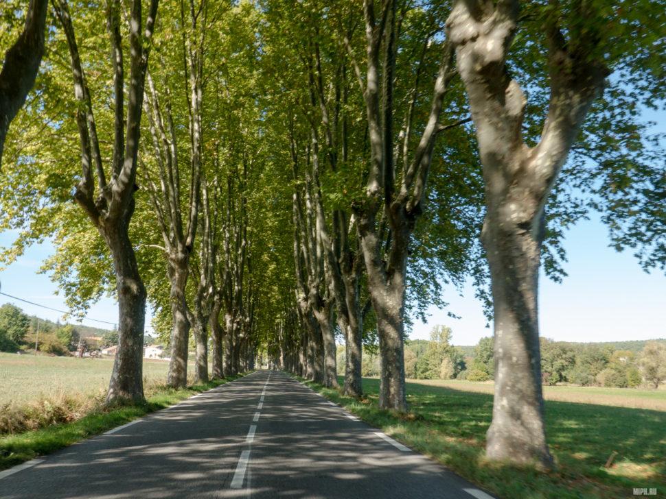 Дорога на Roussillon